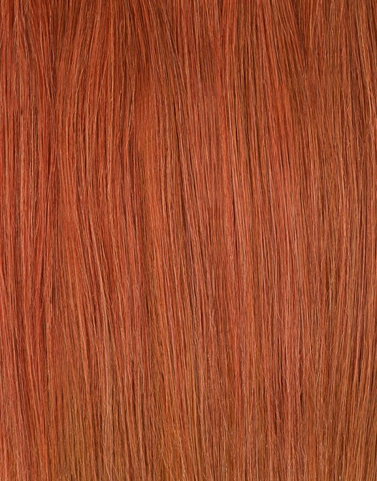 Light Red Clip In Hair Extensions
