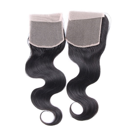 Human Hair Closure Pieces
