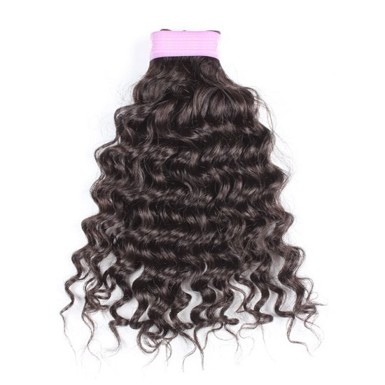 Virgin Indian Curly Hair Bundles