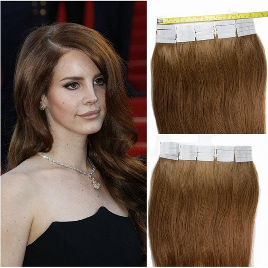 Seamless Tape In Hair Extensions