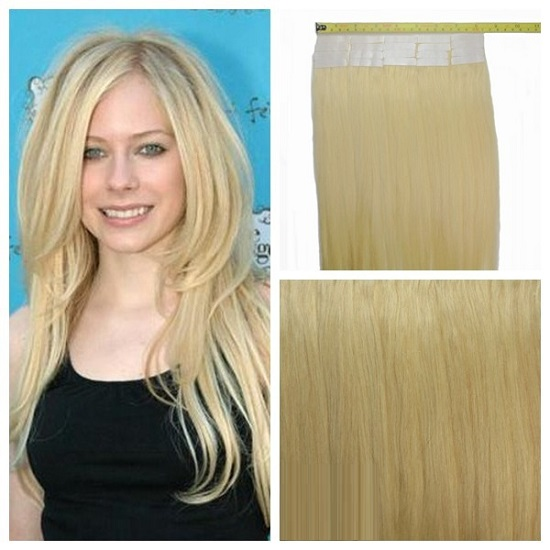 Celebrity Tape Hair Extensions