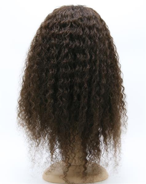 "#2 22"" Deep Wave Best Human Hair Front Lace Wig"