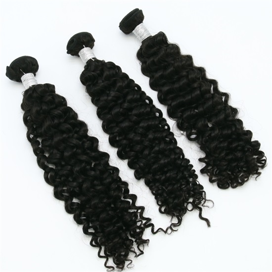 Brazilian Hair Extensions Bundles 7A Deep Curly Thick End