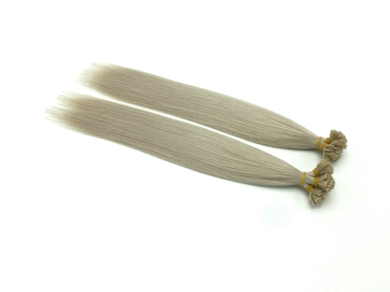 #60A Virgin Flat-Tip Fusion Hair Extensions