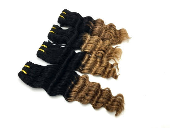 #1B/#27 virgin Brazilian Deep Wave Hair