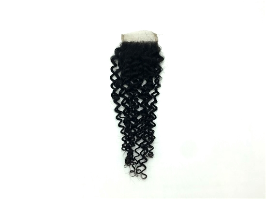 Virgin Brazilian Deep Curly Lace 4X4 Closures