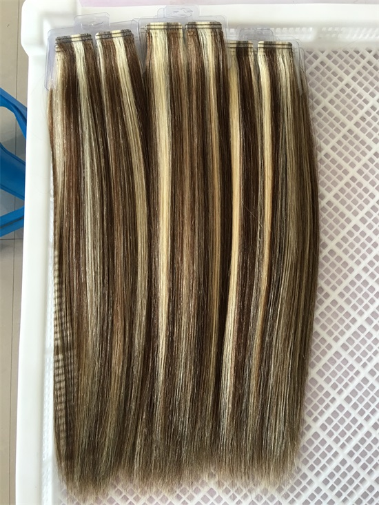 Best Double Drawn Virgin Tape In Hair Extensions