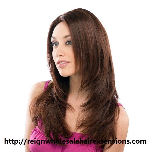Natural hair looking can be only come with real human hair extensions
